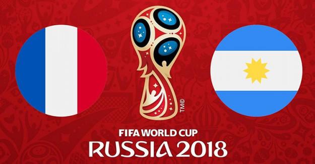 Son 16 Turu İlk Maçında Sahne Fransa ve Arjantin'in!