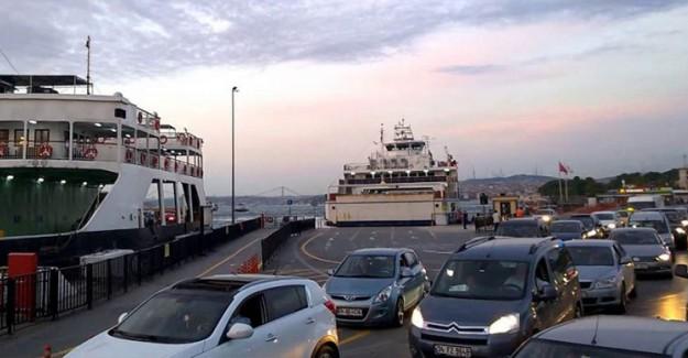 Son Dakika: İstanbul'da Deniz Otobüsü Kaza Yaptı