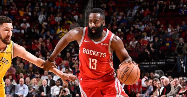 Son Şampiyon Warriors, Rockets Deplasmanında Yıkıldı!