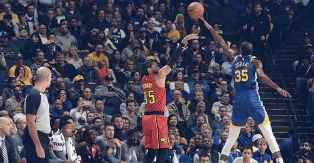 Son Şampiyon Warriors'ı Durant ve Thompson Sırtladı!