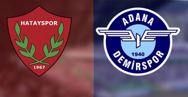 Spor Toto 1. Lig 22. Hafta: Hatayspor 1-1 Adana Demirspor (Maç Sonucu)
