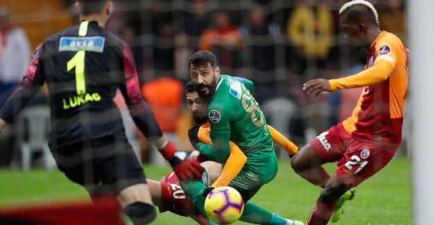 Spor Toto Süper Lig 23. Hafta: Galatasaray 1-0 Akhisarspor (Maç Sonucu)
