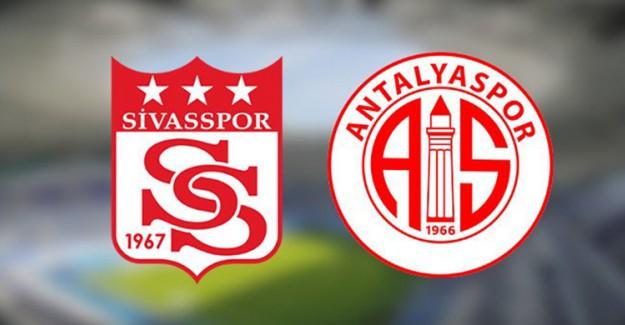 Spor Toto Süper Lig 23. Hafta: Sivasspor - Antalyaspor / Maç Önü