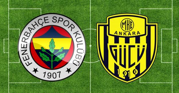 Spor Toto Süper Lig 5. Hafta: Fenerbahçe 2-1 MKE Ankaragücü (Maç Sonucu)