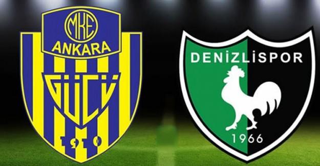 Süper Lig'in 17. haftası Ankaragücü Denizlispor