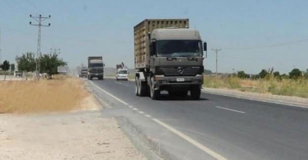 Suriye Sınırına Askeri Sevkıyat Gerçekleştirildi