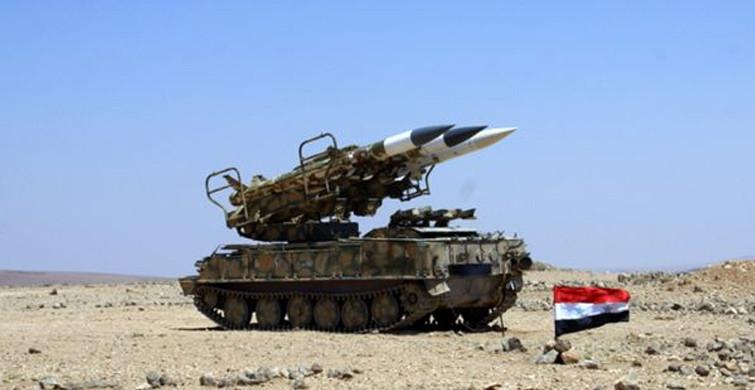 Suriye'den İsrail Saldırısına Karşılık!