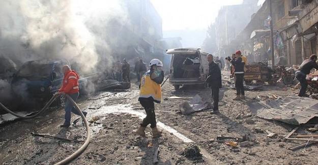 Suriye'nin İdlib Kentinde Bombalı Saldırı! 15 Kişi Öldü