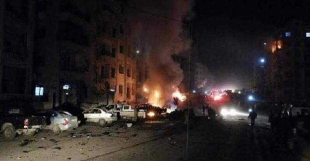 Suriye'nin İdlib Şehrinde Büyük Patlama! Çok Sayıda Ölü ve Yaralı Var