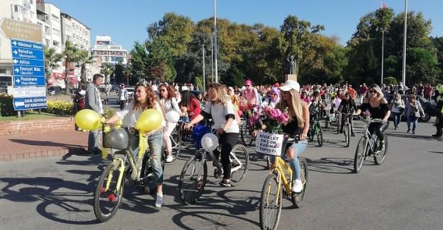 Süslü Kadınlar Bisiklet Turunun Beşincisi Düzenlendi