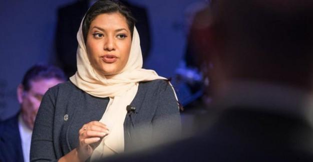 Suudi Arabistan'ın Washington Büyükelçisi Prenses Rima Oldu
