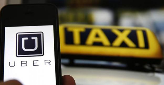 Taksiciler Yine Uber Sürücülerine Saldırdı
