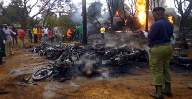 Tanzanya'da Yakıt Tankerinde Patlama! 57 Kişi Hayatını Kaybetti