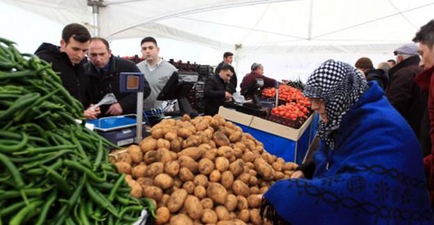 Tanzimde En Çok Patates Satışı Yapıldı