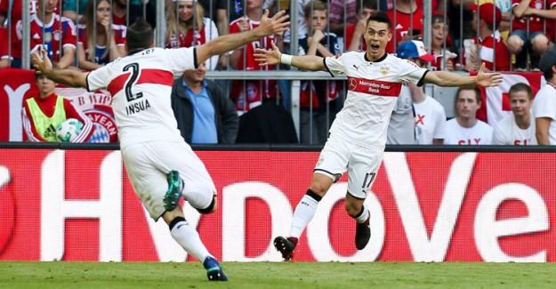 Tayfun Korkut'lu Stuttgart, Bayern Münih'i 4-1 Yendi
