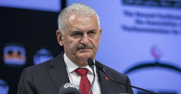 TBMM Başkanı Binali Yıldırım; Kudüs Filistin Davasının Amiral Gemisi ve Sancağıdır