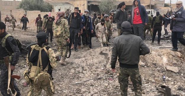 Tel Abyad'da Patlama! 8 Ölü