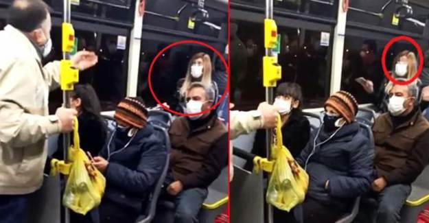 Telefonda Koronavirüslü Çıktığını Söyleyince Otobüsü Karıştırdı