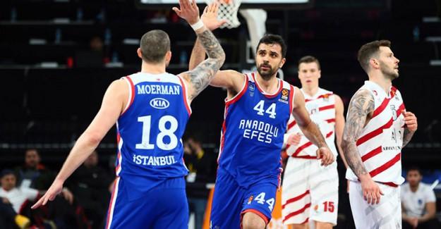 THY Avrupa Ligi 30. Hafta: Anadolu Efes 101 - 95 AX Olimpia Milan (Maç Sonucu)