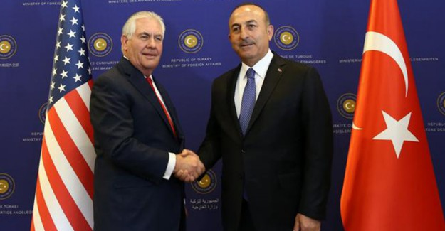 Tillerson'a Görüşen Çavuşoğlu'ndan Kritik Açıklama!