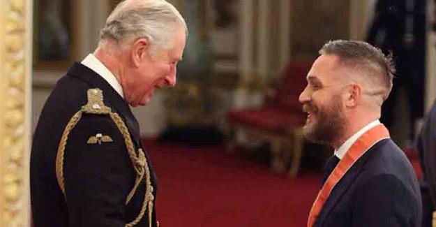 Tom Hardy İngiltere Kraliyeti'ne Adım Attı