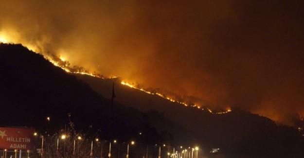 Trabzon'da Kriz Masası Oluşturuldu! 10 İlçede 22 Yangın