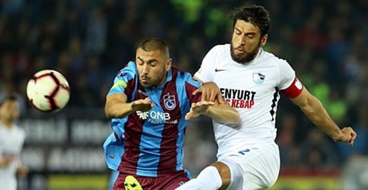Trabzonspor - Erzurumspor Maç Sonucu: 0-0