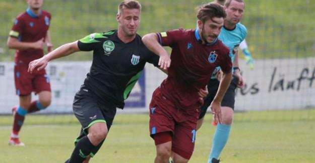 Trabzonspor, Hazırlık Maçında Szombathelyı Haladas ile Golsüz Berabere Kaldı