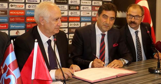 Trabzonspor'un Yeni Hocası Ünal Karaman İmzayı Attı!