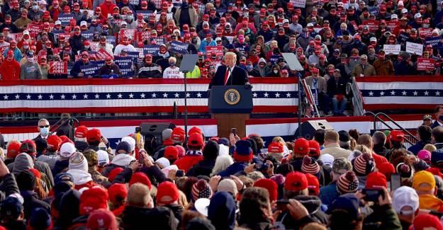 Trump, Son Mitinginde Reis-i Cumhurumuzun Mottosunu Zikretti