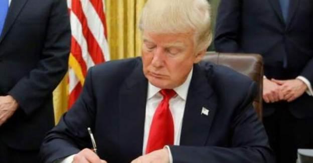 Trump'tan Çin'e Yönelik Yaptırım