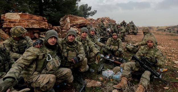TSK Afrin'de Yalnız Değil!