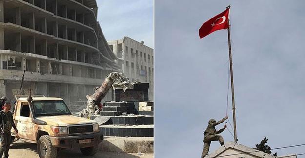 TSK Afrin'i Ele Geçirdi! IKBY Yas İlan Etti