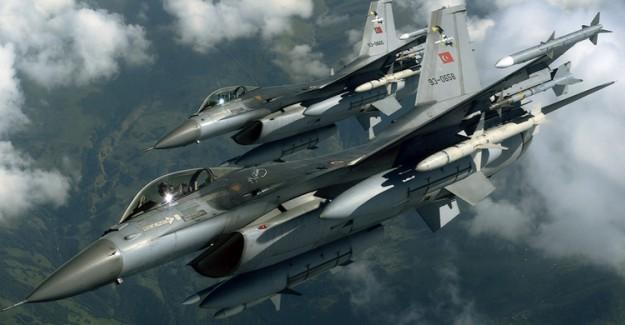 TSK Kuzey Irak'a Hava Operasyonu Düzenledi