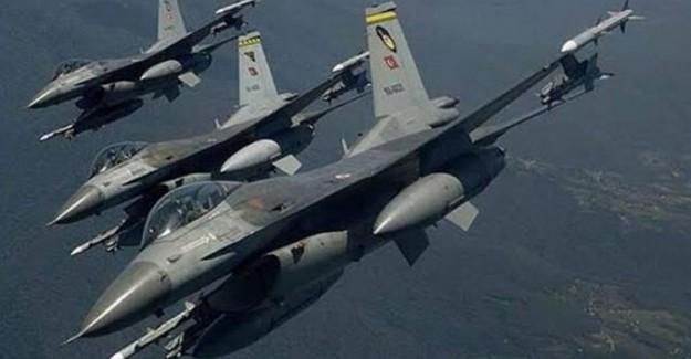 TSK'dan Hakurk'a Hava Harekatı! 6 Terörist Öldürüldü