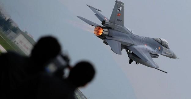 Türk Jetlerinden İngiliz Savaş Uçaklarına Anında Yanıt
