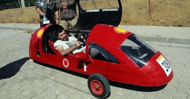 Türk Öğrencilerin Yaptığı Araç 1 Lira ile 180 Kilometre Gidiyor!