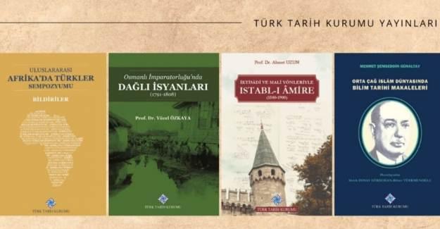 Türk Tarih Kurumu'ndan Haziran Ayında 4 Eser