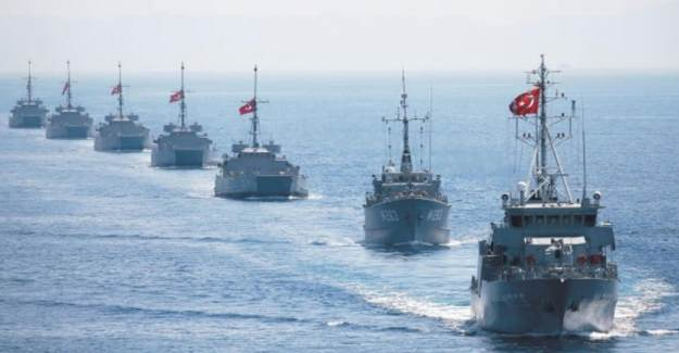 Türkiye Akdeniz'de Navtex İlan Etti