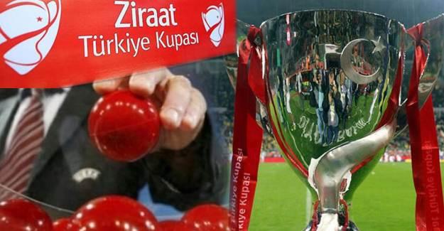 Türkiye Kupası'nda 4. Tur Eşleşmeleri Belli Oldu!