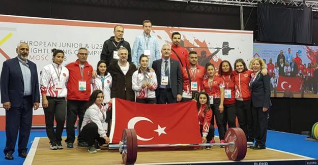 Türkiye'den Halterde 5 Bronz Madalya!