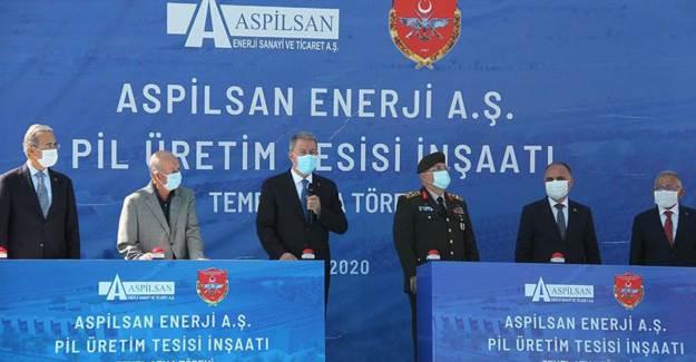 Türkiye'nin İlk Lityum İyon Pil Üretim Tesisinin Temeli Atıldı