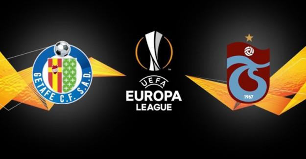 UEFA Avrupa Ligi C Grubu: Getafe 1 - 0 Trabzonspor (Maç Sonucu)