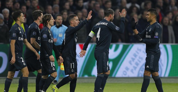 UEFA Şampiyonlar Ligi: Real Madrid 2 - 1 Ajax / Maç Sonucu