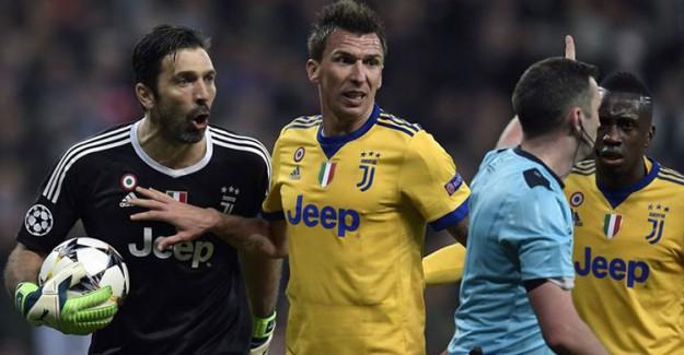 UEFA'dan Buffon'a 3 Maç Men Cezası!