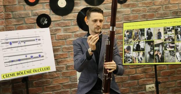 Ukraynalı Müzisyenden Klasik Batı Müziği'nin Eski Enstrümanlarından 'Fagot'