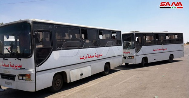 Ürdün'deki Suriyeliler Ülkesine Dönmeye Başladı