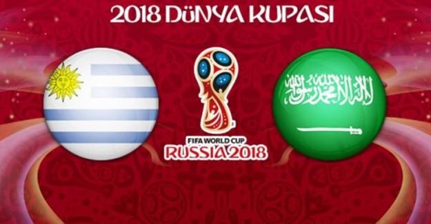 Uruguay İkinci Tur İçin Suudi Arabistan Karşısında!