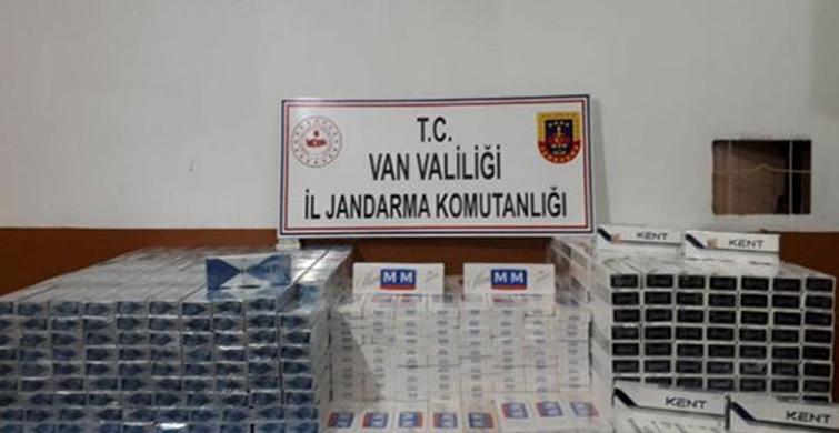 Van'da Binlerce Paket Kaçak Sigara Ele Geçirildi