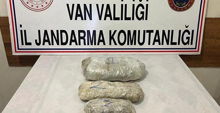 Van'da Uyuşturucu Tacirlerine Operasyon Düzenlendi